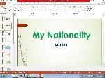 820199x150 - پاورپوینت زبان My Nationalityدرس اول پایه هشتم